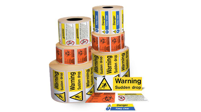 Warning label suppliers in UAE
