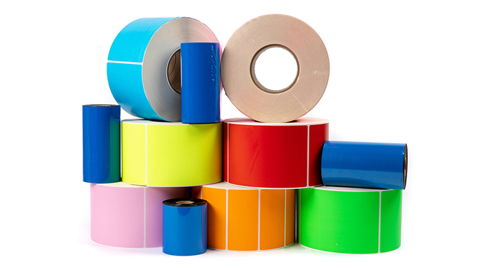 Plain and Color Labels UAE